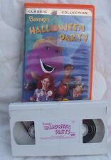 Barney's Halloween Party Classic Collection VHS Movie Tape
