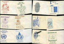 PAKISTAN 1960-70s 20 ILLUSTRATED ENVELOPES for FDCs PRINTED PAKISTAN PO Lot 3