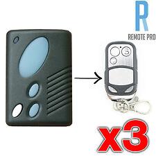 3 x Gliderol TM305C GRD2000 GTS2000 Garage/Gate Door Remote Control - NEW!