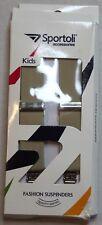 "Sportoli Accessories Kids Fashion Tan Suspenders 22"" New"