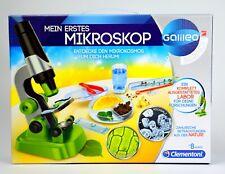 Clementoni Galileo SCIENCE Mein erstes Mikroskop Kinder Labor Lernspiel Wissen