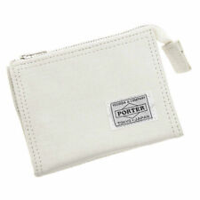 Yoshida Bag PORTER / DUCK ZIP WALLET 636-06834 White Japan New