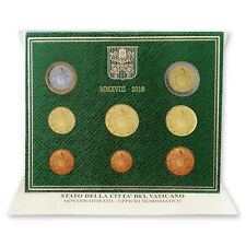 **euro 2018 Vaticaan Vatican BU 2018 0,01 -- 2 euro  / 8 munten