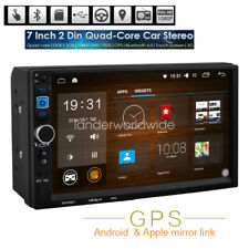 "Android 7"" Double 2Din Car MP3 MP5 Radio Player WIFI GPS Navi Touch Bluetooth"