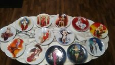 Marilyn Monroe Collector Plates- Complete 12 Set Series -The Bradford Exchange