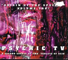 CD Album: Psychic TV: origin of the species volume too. invisible 2 cd. B1