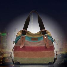 2017 Fashion Women Shoulder Bag Satchel Crossbody Tote Purse Messenger Canvas F^