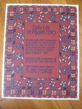 vtg '70s Nikki Schumann MUSLIM SILKSCREEN Iran Egypt Turkey rug art print Signed