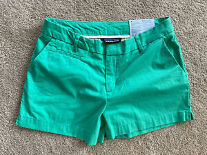 """Patagonia All Wear 4"""" Inseam Women's Size 4 Green Slim Fit Stretch Shorts NEW"""