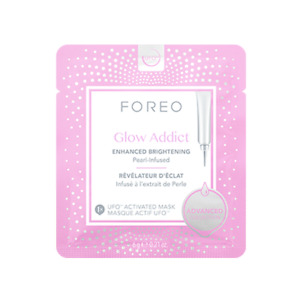 NEW FOREO Glow Addict - Brightening Face Mask 6 x 6g Womens Skin Care