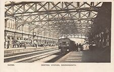 POSTCARD    DORSET   BOURNEMOUTH   Central  Station    RP