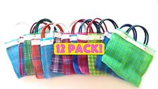 Mexican Mercado Bags Mini Market Bag Small Candy Treat Mexican Party Favors 12pc