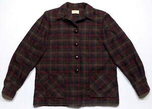 Vintage Women\u2019s Pendleton 49er Wool Plaid Jacket
