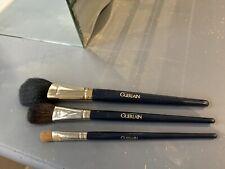 Guerlain Set Of 3 Brushes .Powder Brush, Blush Brush And Blending Brush All New