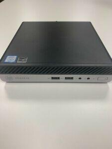 HP ProDesk 400 G3 Mini - i5 7500T 2.70ghz, 8GB RAM, 256GB SSD, Win 10 Pro