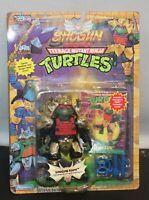 TMNT 1994 Teenage Mutant Ninja Turtles Shogun Raph Raphael GOLD ARMOR w/Card MOC