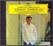 Christian THIELEMANN: SCHUMANN Symphony No.2 Manfred Konzertstück for 4 Horns CD