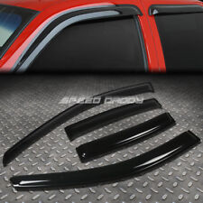 FOR 00-05 TOYOTA ECHO 4DR SMOKE TINT WINDOW VISOR/WIND DEFLECTOR VENT RAIN GUARD