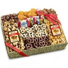 Golden State Fruit Aa4056 Chocolate Caramel and Crunch Grand Gift Basket