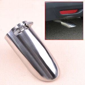 Rear Bumper Exhaust Muffler End Tail Pipe Tip Fit For Nissan Rogue X-Trail 14-19