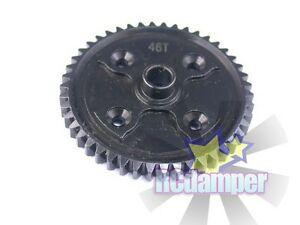 STEEL SPUR MAIN GEAR BK 46T KYOSHO 1/8 INFERNO NEO GT2 VE CENTER DIFFERENTIAL