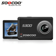 "SOOCOO S300 Action Camera 2.35"" Touch LCD Hi3559V100+IMX377 4K 30fps Wifi 12MP"