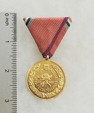 Hungary Fire Department 20 Year Service Medal