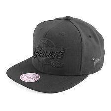 MITCHELL NESS Cleveland Cavaliers black one berretto da baseball, Nero, 93170