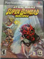 Star Wars: Super Bombad Racing (Sony PlayStation 2, 2001) - CIB