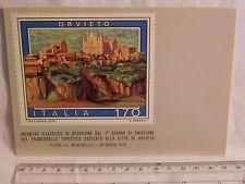 Cartolina Primo giorno di emissione Francobollo ORVIETO 30 marzo 1979 170 lire