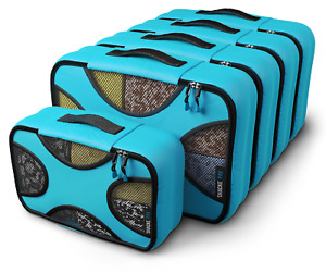 Shacke Pak - 5 Set Packing Cubes - Luggage Packing Travel Organizers