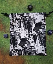 Star Wars R2D2 mirror image dice bag, card bag, makeup bag