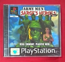 Army Men Sarge S Heroes Sony PSX PS1 Español Seminuevo