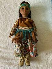 """1995 Madame Alexander- 14"""" Pocahontas #24613 RARE"""