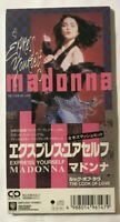 "Madonna Express Yourself Japan 3"" CD Single Unsnapped 09P3-6147 The Look Of Love"