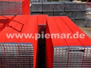 Gerüst Typ Plettac 163 qm mit Durchstieg Fassadengerüst Holzböden 2,5m NEU