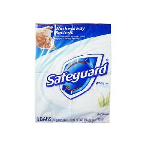 Safeguard Antibacterial Soap, White with Touch of Aloe 4 oz bars, 4 ea