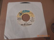 George Morgan: Shiny Red Automobile / Have Some Of Mine 45 Rpm Starday 814