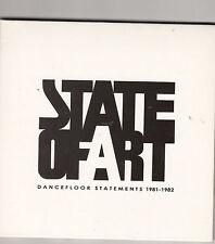 STATE OF ART - dancefloor statements 1981-1982 CD