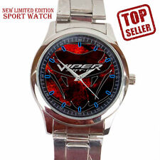 Hot 2017 Dodge Viper SRT Accesories Car Logo Sport Metal Watch