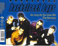 BACKSTREET BOYS - As long as you love me (REMIXES) CDM 6TR Europop 1997 (Jive)
