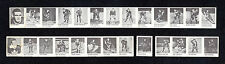 1950 R423 Hockey - 26 different (two strips) w/Howie Morenz.  RARE.  High grade