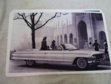 1961 CADILLAC ELDORADO CONVERTIBLE 11 X 17  PHOTO  PICTURE
