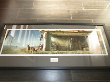 """FALLOUT IV GARAGE FRAMED Numbered Limited Edition Lithograph Print 36"""" X 16"""""""
