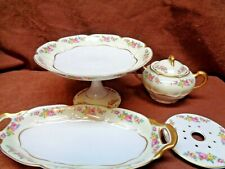 HAVILAND FRANCE FLORENCE SCH 549 4 PIECES OF CHINA   Free Shipping