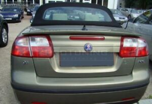Rear Boot Trunk Spoiler Lip Duckbill Wing For Saab 9 3 Cabrio