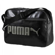 PUMA Campus Reporter Umhängetasche Tasche Puma Black Schwarz Erwachsene Neu