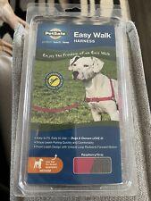 New listing PetSafe Easy Walk No-Pull Harness Size Medium Raspberry/Gray Nib Free Shipping!