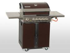 Coobinox Edelstahl Gasgrill 4 Brenner CHOCO S Wokbrenner Grill BBQ Außenküche