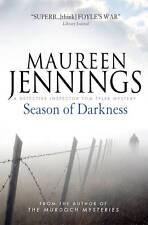 Season of Darkness Maureen Jennings Paperback 2013 Inspector Tom Tyler Mystery